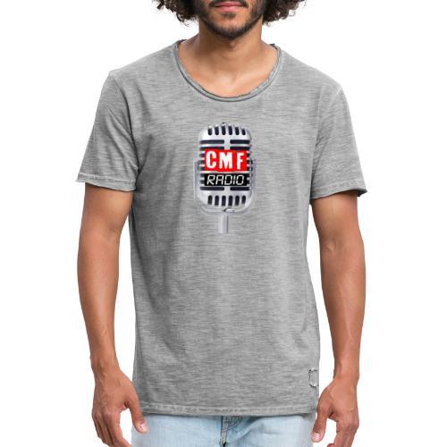 CMF RADIO MIC - Men's Vintage T-Shirt