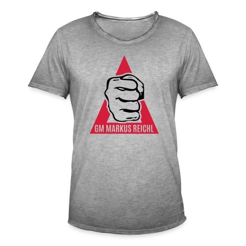 HK-RYU Faust - Männer Vintage T-Shirt