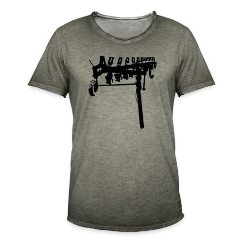 trailed plow - Men's Vintage T-Shirt