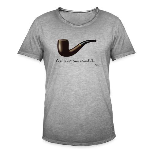 La Cutlure est Essentielle (by EFEL) - T-shirt vintage Homme