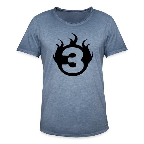 shoulder logoc - T-shirt vintage Homme