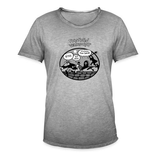 Tyrnävän Verikoirat 6 - Miesten vintage t-paita