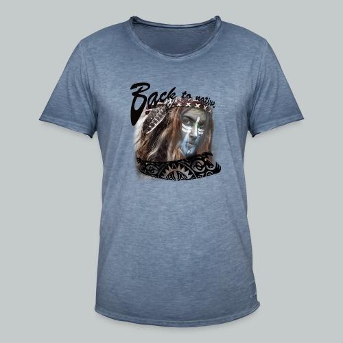 progress2 - Mannen Vintage T-shirt