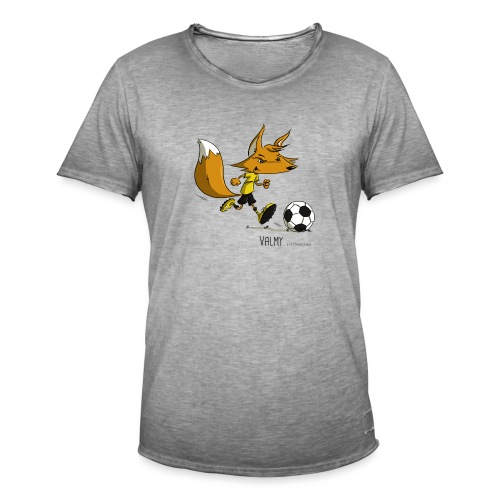 Valmy mascotte - T-shirt vintage Homme