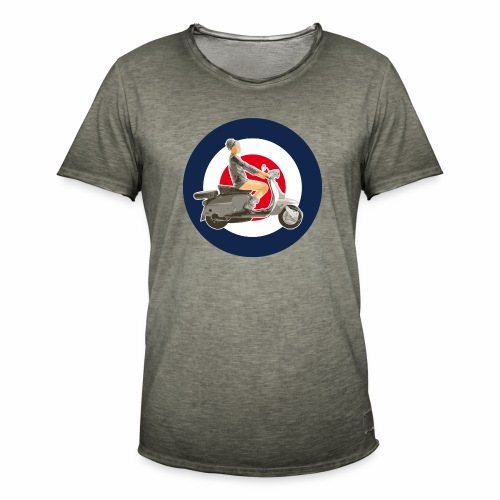 Scooter girl - T-shirt vintage Homme