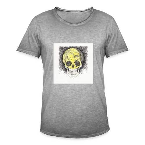 Moon jpg - Männer Vintage T-Shirt