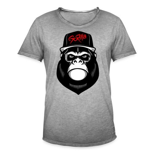 Urban Gorilla - Camiseta vintage hombre