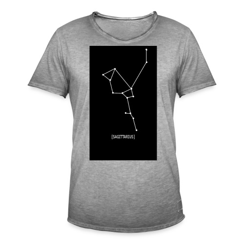 SAGITTARIUS EDIT - Men's Vintage T-Shirt