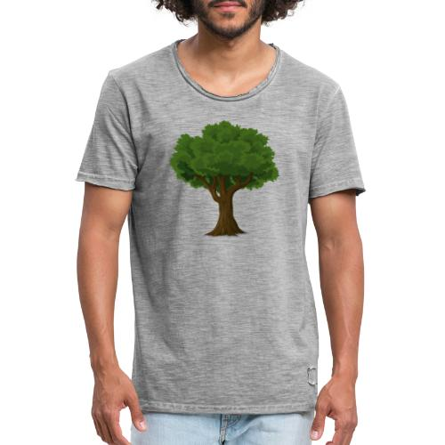 Tree / Baum - Männer Vintage T-Shirt