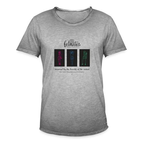 The felmates erotical artworks 3 - Männer Vintage T-Shirt
