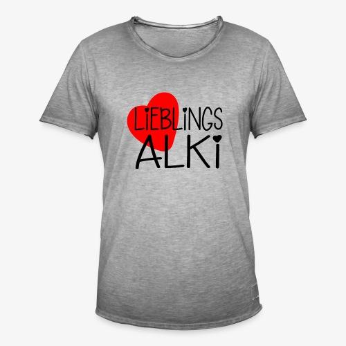 Lieblings-Alki Geschenkidee Valentinstag - Männer Vintage T-Shirt