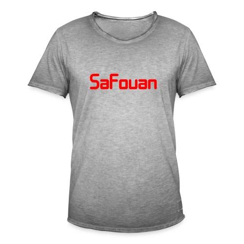 Safouan Merch - Mannen Vintage T-shirt