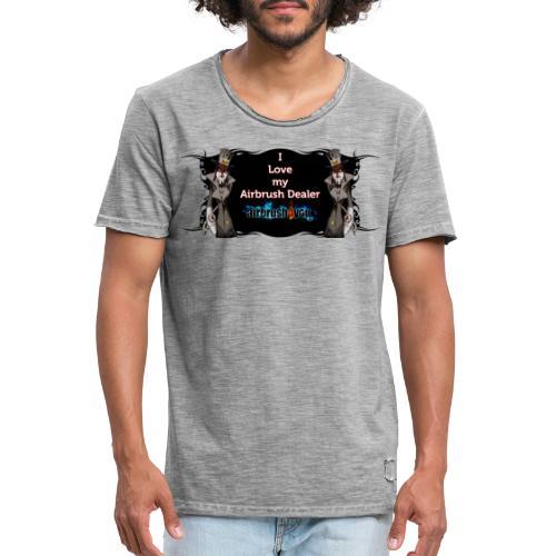 Airbrush Dealer - Männer Vintage T-Shirt