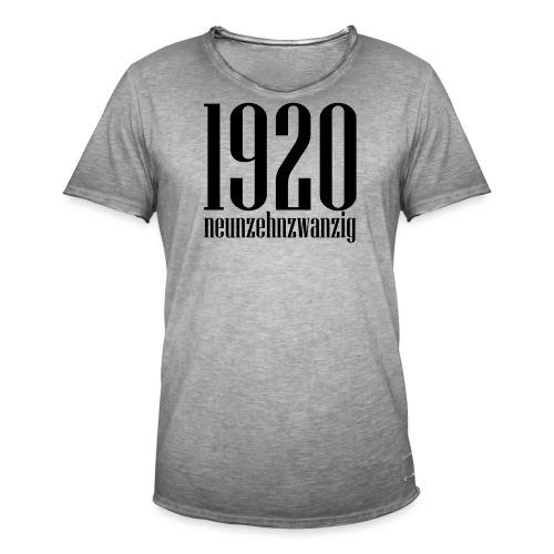neunzehnzwanzig - Männer Vintage T-Shirt