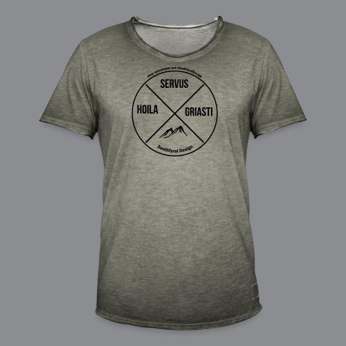 Hoila Servis Griasti - Männer Vintage T-Shirt