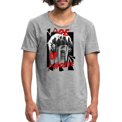 age of anger - T-shirt vintage Homme