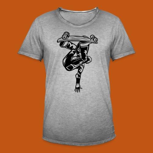 Skater / Skateboarder 03_schwarz - Männer Vintage T-Shirt