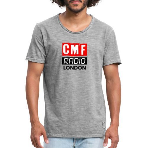 CMF RADIO LOGO LONDON BASEBALL HAT - Men's Vintage T-Shirt