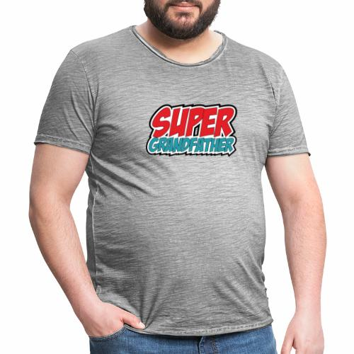 Super Grandfather - Men's Vintage T-Shirt