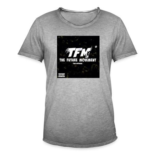 The Future Movement (black) - Mannen Vintage T-shirt