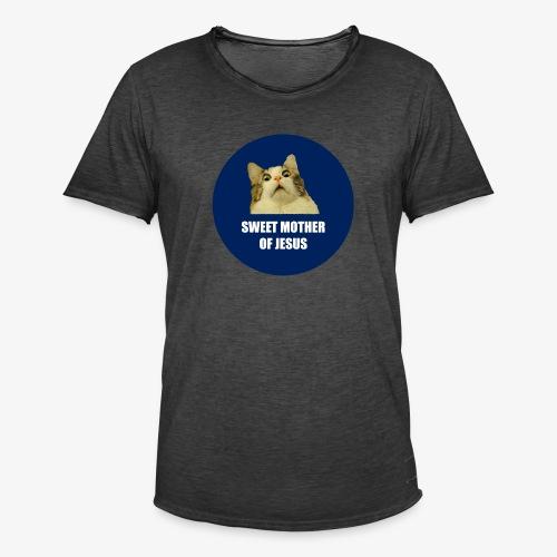 SWEETMOTHEROFJESUS - Men's Vintage T-Shirt