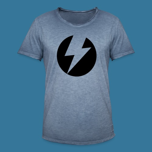BlueSparks - Inverted - Men's Vintage T-Shirt