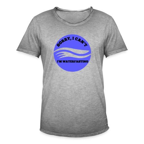 waterfasting - Mannen Vintage T-shirt