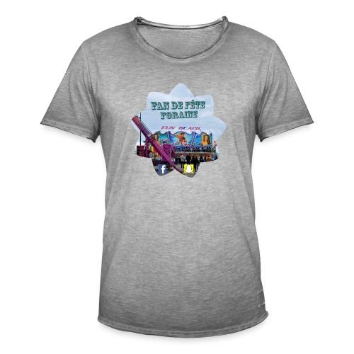 Fan de fête foraine habil - T-shirt vintage Homme