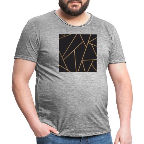 Muster - Männer Vintage T-Shirt