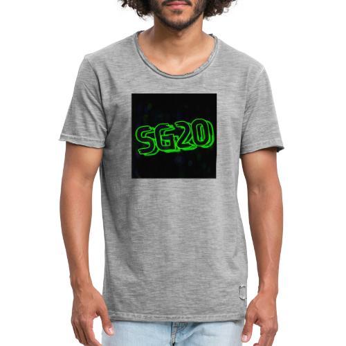 SG 20 - Vintage-T-shirt herr