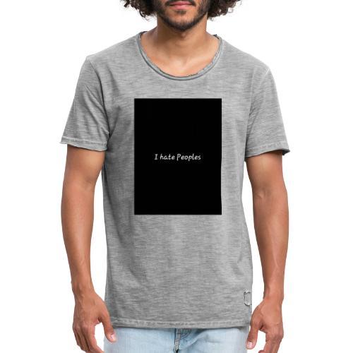 Deep - Männer Vintage T-Shirt