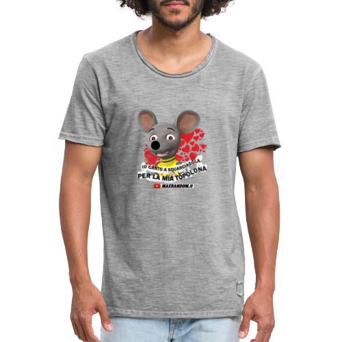 Io Canto a Squarciagola - Maglietta vintage da uomo