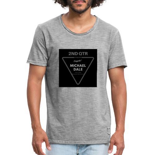 Michael Dale - Camiseta vintage hombre