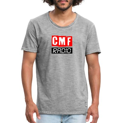 CMF RADIO LOGO GEAR - Men's Vintage T-Shirt