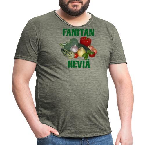 Fanitan heviä - Miesten vintage t-paita