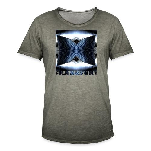 Frankfurt #3 - Männer Vintage T-Shirt