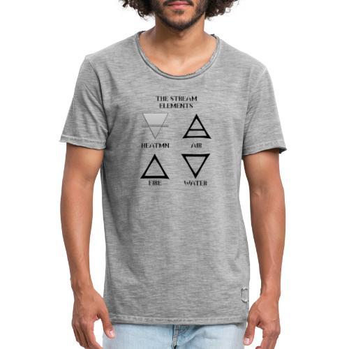 Heatmn Streamelements - T-shirt vintage Homme