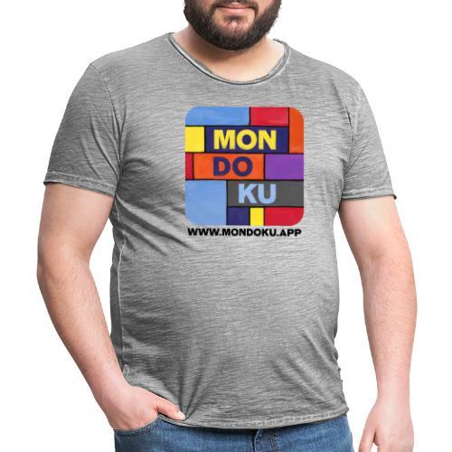 MONDOKU Icon - Männer Vintage T-Shirt