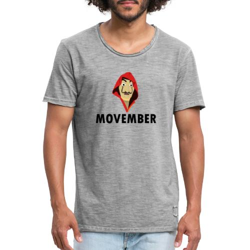 Le mois de la moustache - T-shirt vintage Homme