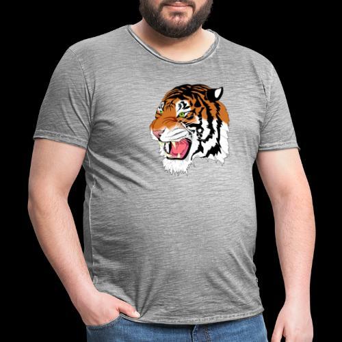 Sumatra Tiger - Männer Vintage T-Shirt