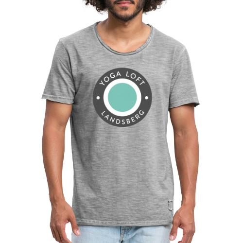 Yoga Loft Landsberg - Yang - Männer Vintage T-Shirt