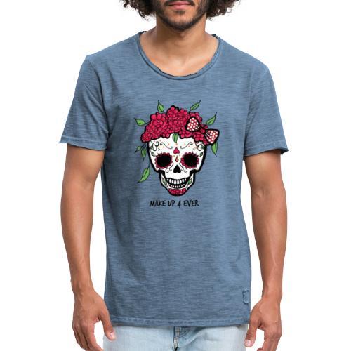 Make-Up Liebe für immer - Männer Vintage T-Shirt