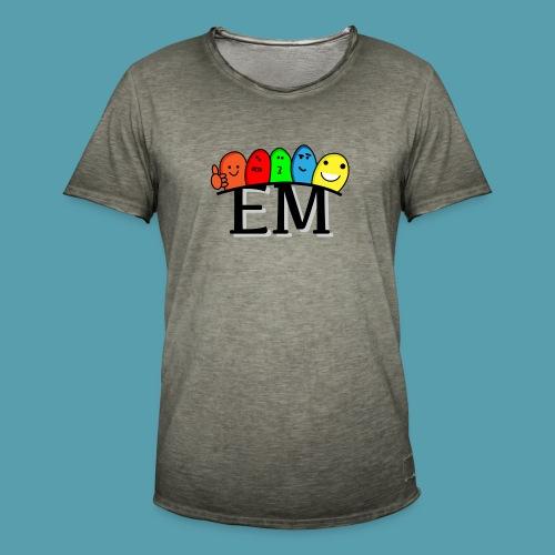 EM - Miesten vintage t-paita