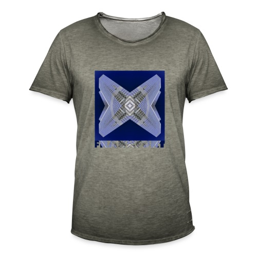 Frankfurt #4 - Männer Vintage T-Shirt