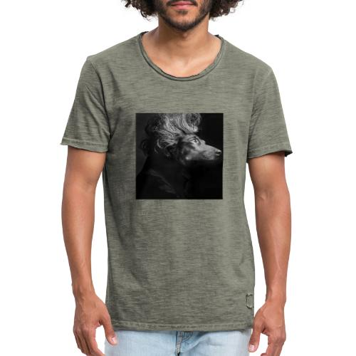Mozartdackel - Männer Vintage T-Shirt