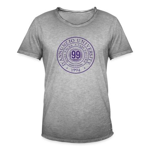 99 COSSE LOGO - Maglietta vintage da uomo
