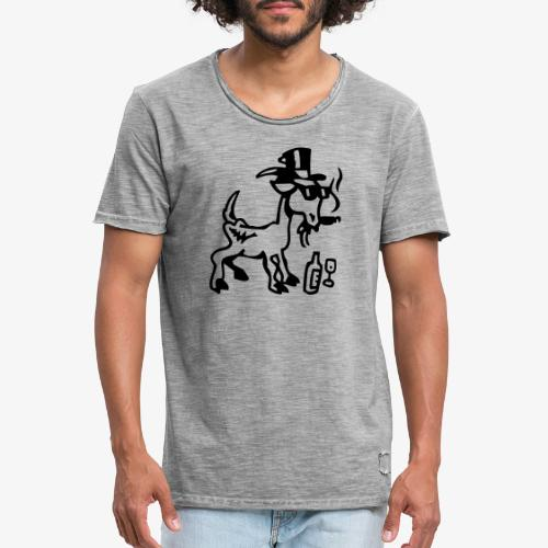 Bock auf Shirts ohne Text 30102018 8 08 - Männer Vintage T-Shirt