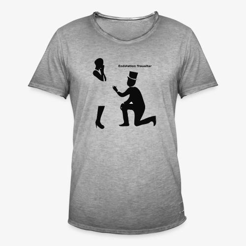 Endstation Traualtar - Männer Vintage T-Shirt