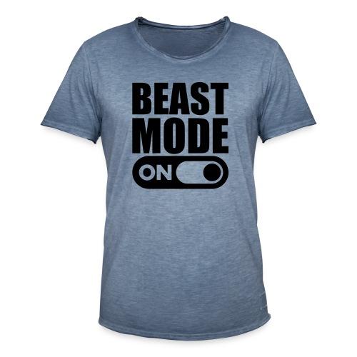 BEAST MODE ON - Men's Vintage T-Shirt