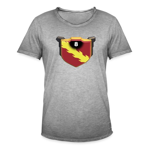 ESCUDO-01 - Camiseta vintage hombre